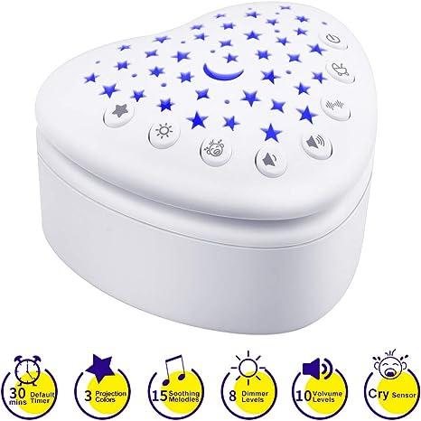 Chupete inteligente para dormir, máquina de sonido de ruido blanco ...