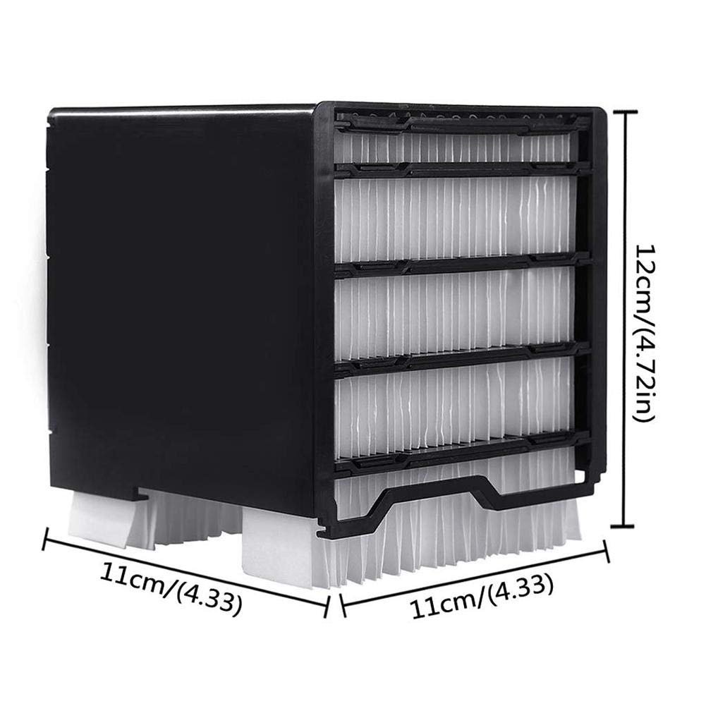 raspbery Filter for Personal Space Cooler,Replacement Filter for Portable Air Conditioner Personal Space Air Cooler