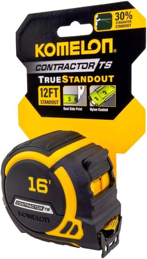 """Komelon Contractor TS Tape Measure 25/' x 1.25/"""""""