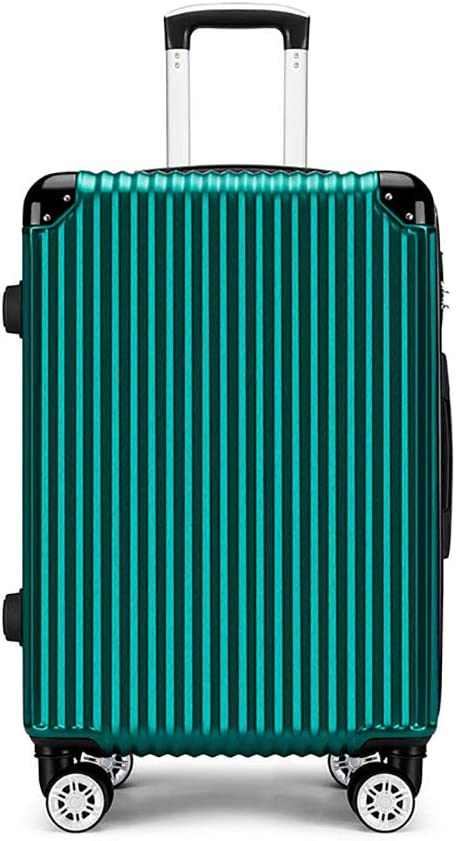 MRXUE Travel Suitcase 28 with Spinner Wheels,Hard /& Flexible Case Carry On Luggage Adjustable Handle
