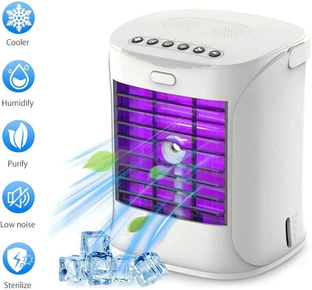 SHHYD Portable Air Conditioner Fan, 3 in 1 Mini Mute Air