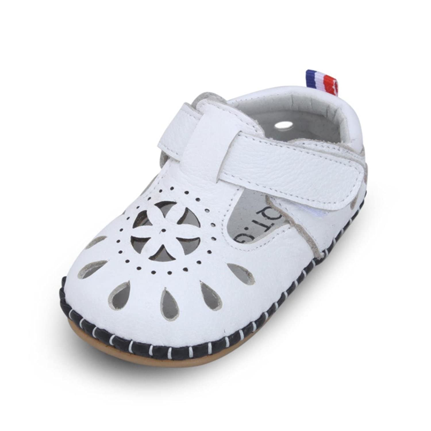 Summer Baby Girls Shoes Hollow First Walkers 0 1Y Cowhide Leather