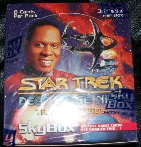 Star Trek Deep Space Nine Trading Cards Ds9 Sky Box ()