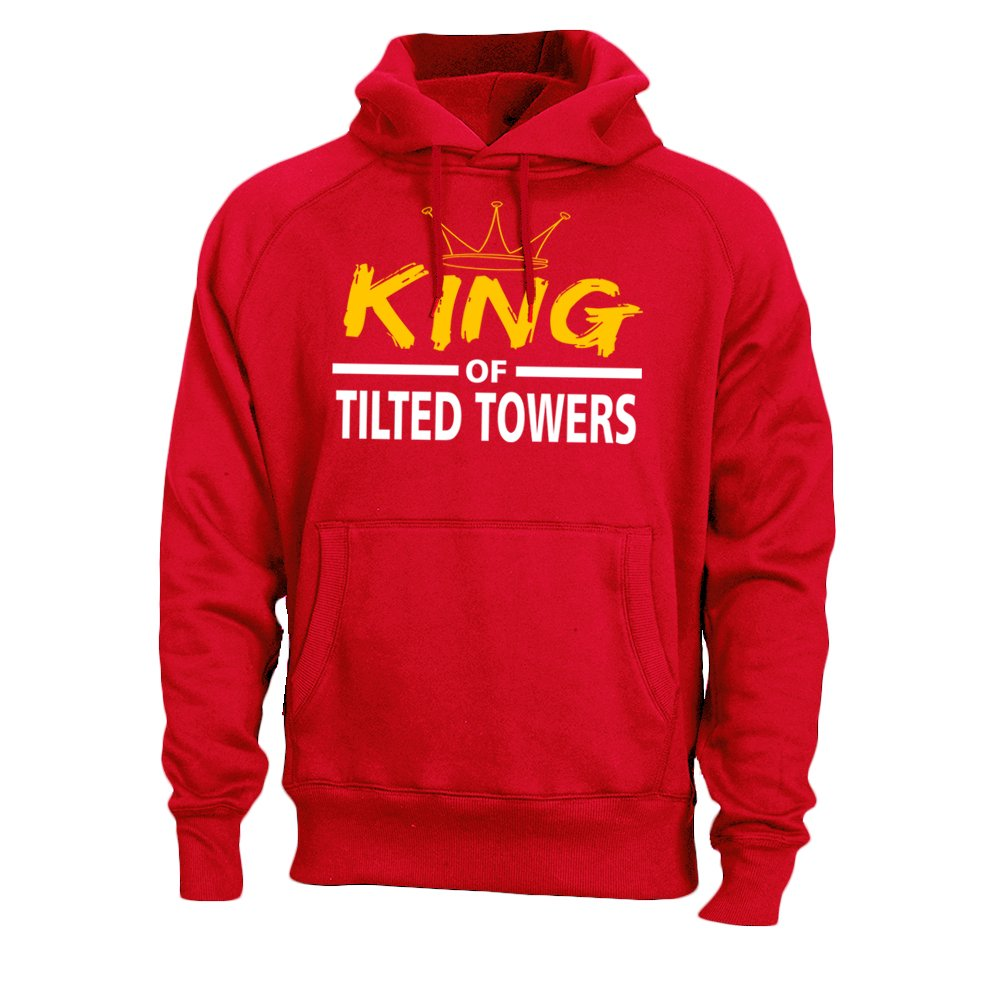 King Tilted Towers Adult Men's Sweatshirt Hoodie