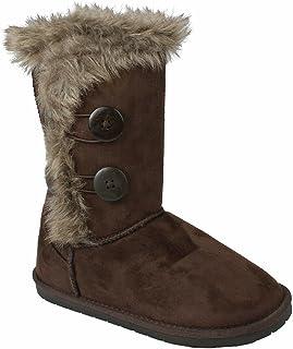 Amazon.com | New Girl&39s Kid&39s Cute Warm Winter Mid Calf Snow Boots