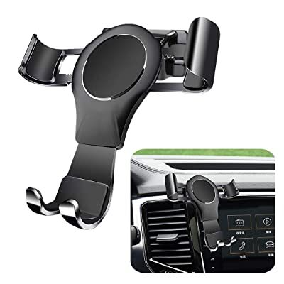 LUNQIN Car Phone Holder for Volkswagen Atlas 2020-2020 Auto Accessories Navigation Bracket Interior Decoration Mobile Cell Phone Mount