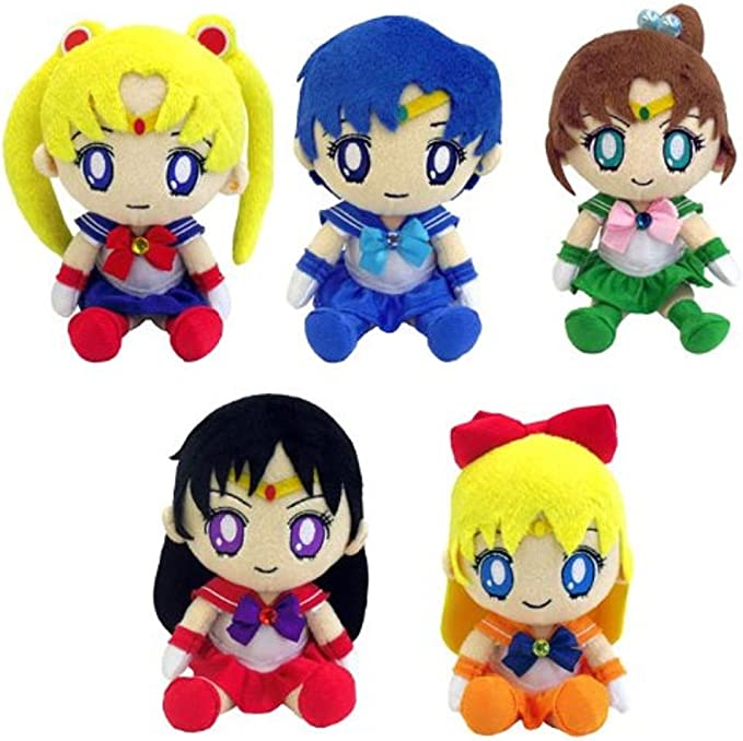 Sailor Moon - Soft Toy Cushion Gift Box: Amazon.es: Juguetes y juegos