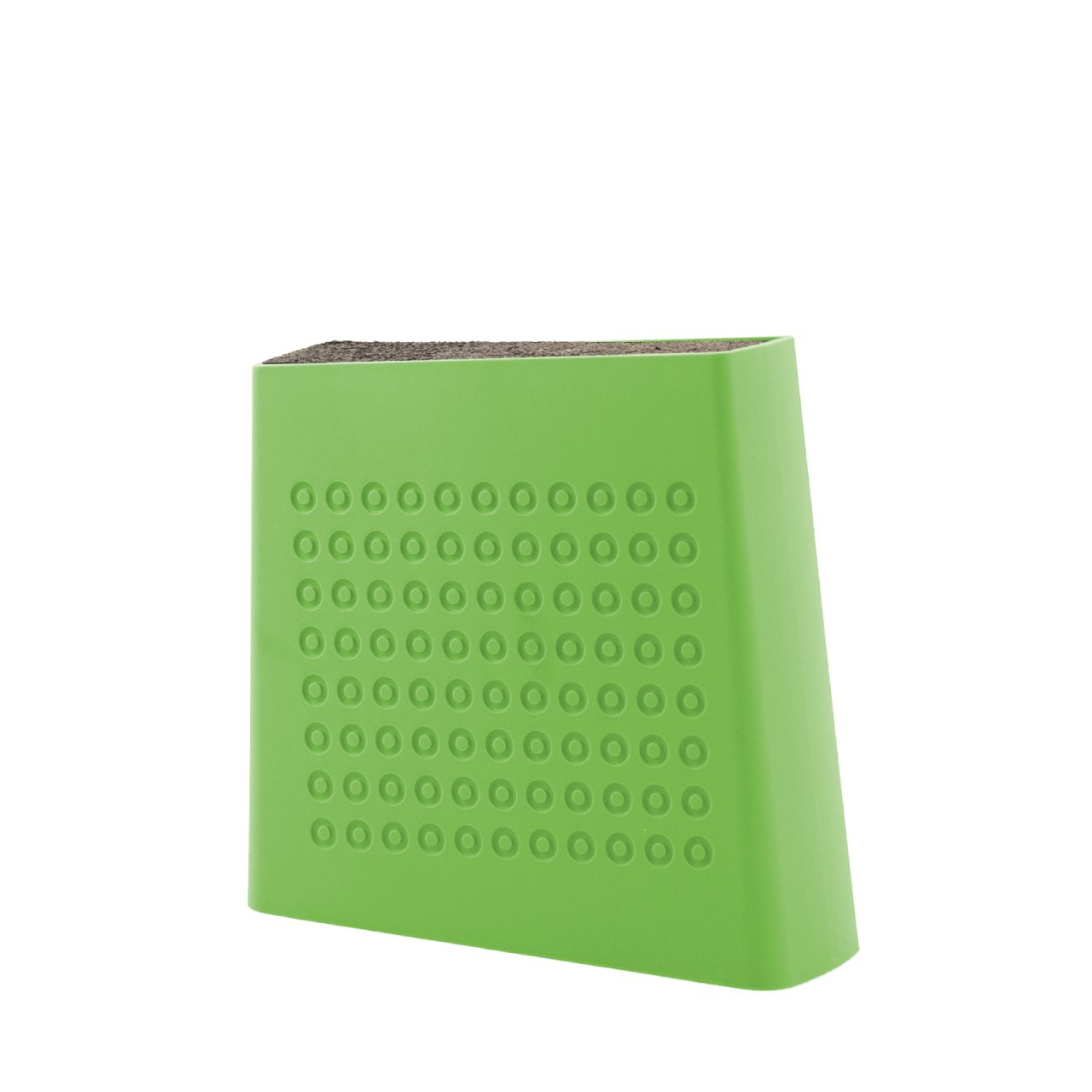 Kapoosh Urban Universal Knife Block- Lime Green
