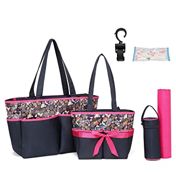 Amazon.com: Bolsa de pañales para pañales, bolsa de pañales ...