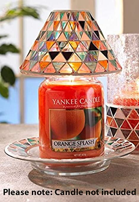 Yankee candle corsica mosaic wax burner amazon kitchen home mozeypictures Gallery