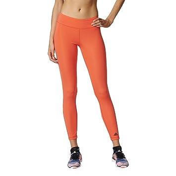 adidas Damen WO Long Tights Leggings, OrangeCorsen, XSL