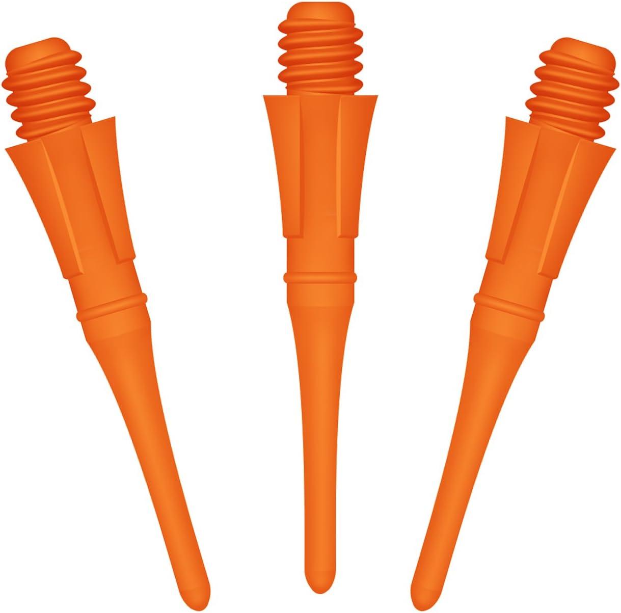 CyeeLife Professionelle Softdarts Spitzen,Soft Tips 100//250//500 St/ück 2BA Gewinde CL04 Stil