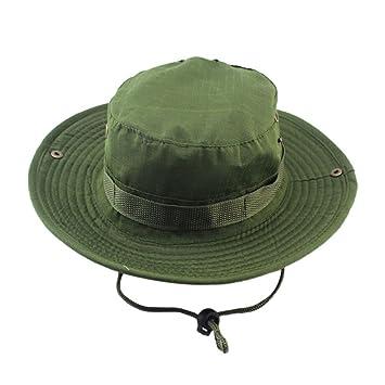 6d20dadf7a2fd2 JYJMJustierbare Kappen-Hut-nepalesische Kappe Army Mens-Fischer-Hut Reine  Farbe Bergsteigenfischenmänner