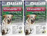 K9 ADVANTIX II Dog Flea & Tick over 55lbs Blue 12 Month