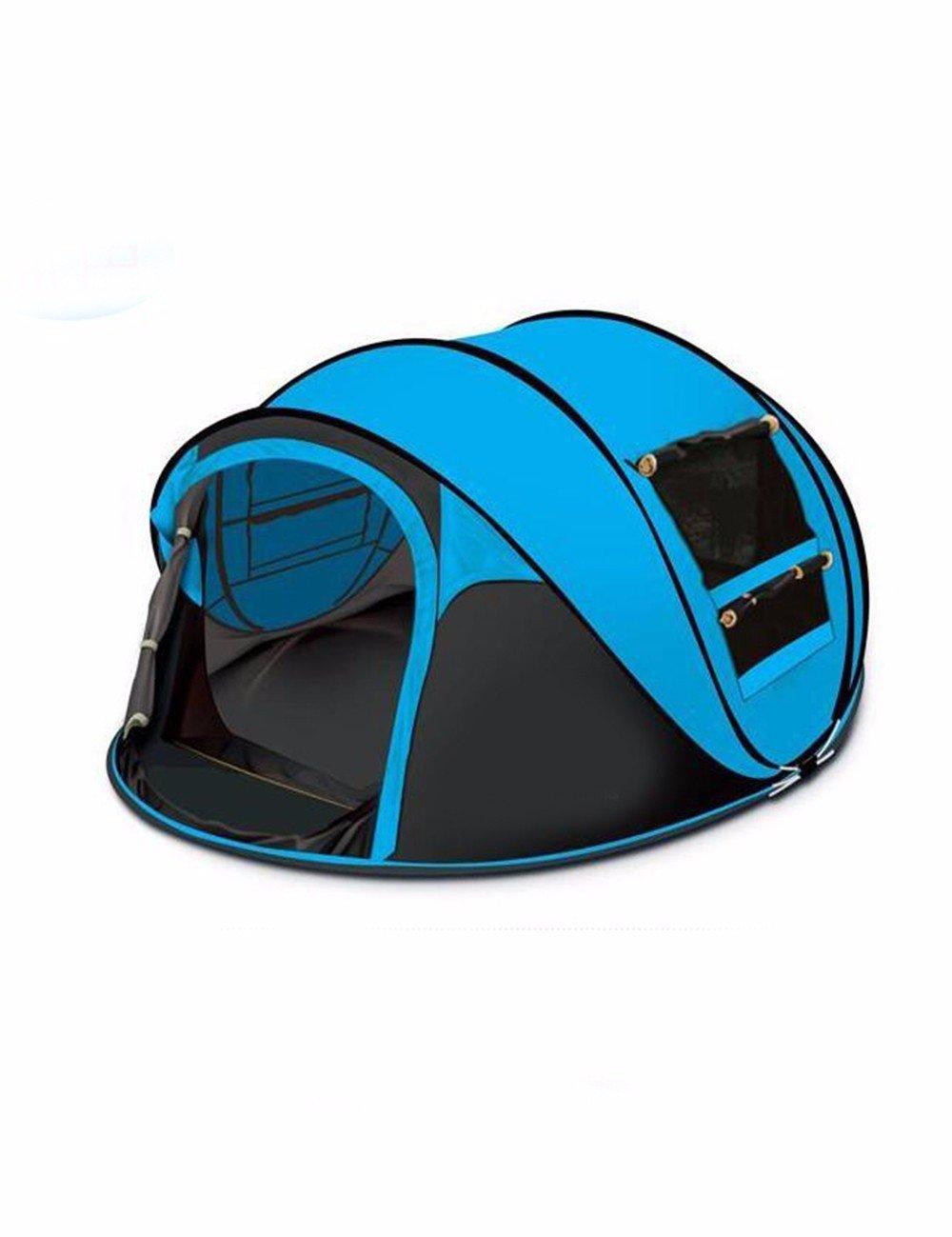 SJQKA-Großer Außenpool Platz 3-4 Personen Zelt, Yulu Bataillon Camping Zelt Sabotage, zwei Schlafzimmer und ein Wohnzimmer Full-Automatic Hayaaki Zelt