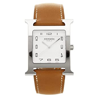 40de6242f87f [エルメス] 腕時計 レディース HERMES HH1.810.131/VBA 036833WW00 ブラウン シルバー ホワイト [