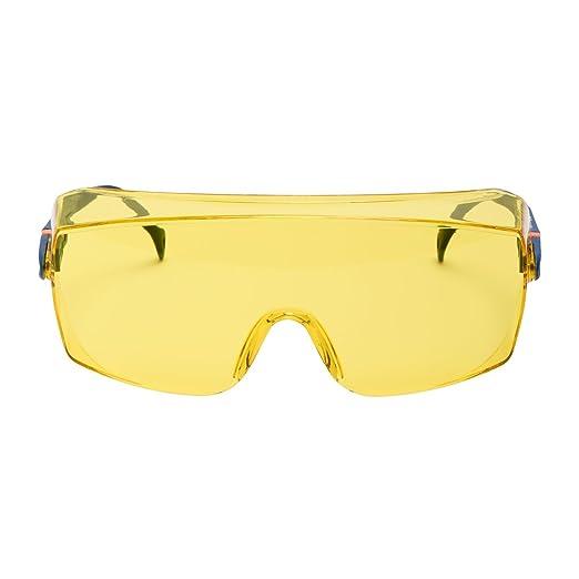 4 opinioni per 3M™ 2802 serie 2800 Sovraocchiale di protezione, lente gialla (AS)