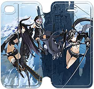 iphone 6 6S 4.7 inch Flip Leather Phone Case Black Rock Shooter SF1DG6272434