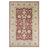 Cheap Lavish Home Vintage Flowered Rug – Red – 5′ x 7'7″