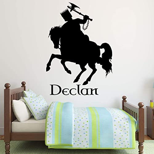 Knight request Name Childrens Name Medieval Boy Wall Sticker Wall Decal