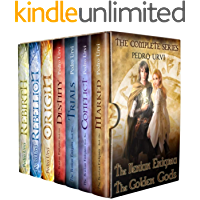 The Ilenian Enigma and The Secret of The Golden Gods (Complete Series, 7 books): A Young Adult Epic Fantasy Action Adventure