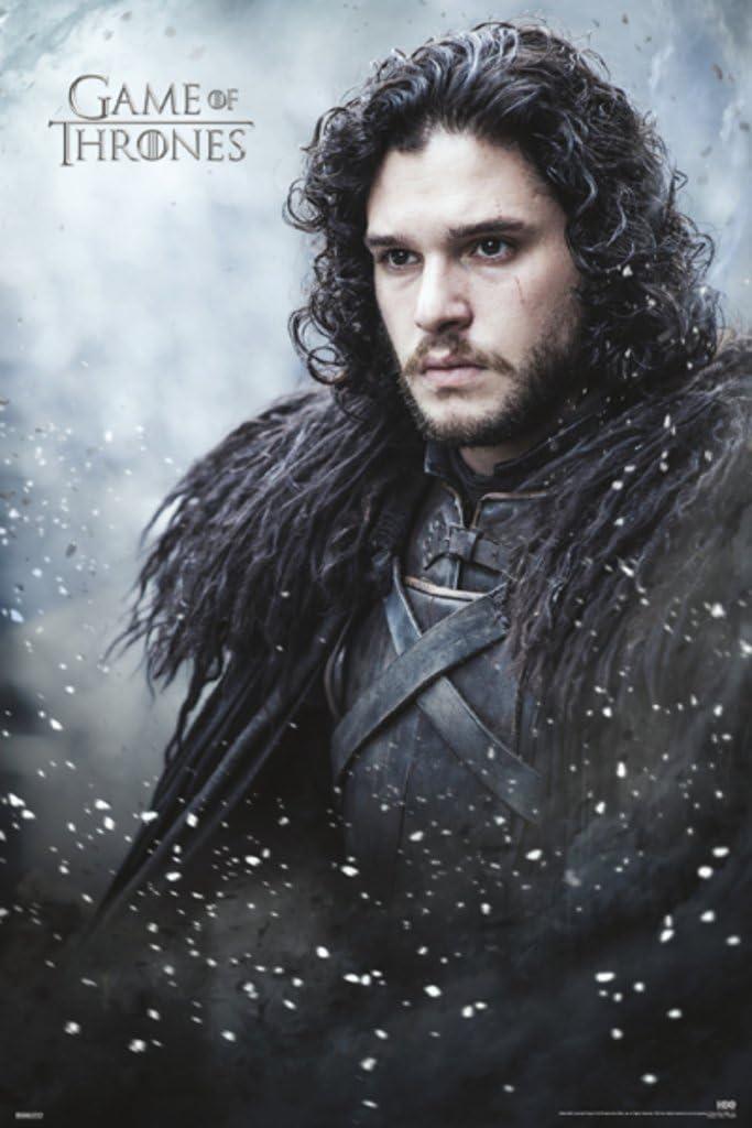 Pyramid America Game of Thrones Jon Snow TV Show Cool Wall Decor Art Print Poster 24x36