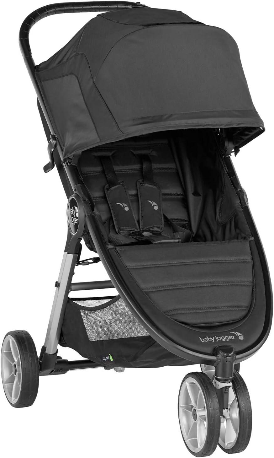 Baby Jogger City Mini 2 de 3 Ruedas Jet. Silla de paseo desde nacimiento hasta 22kg. Color negro