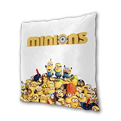 """Minions Outdoor/Indoor Cushions 18.5""""x 18.5"""", 2 Pieces: Kitchen & Dining"""
