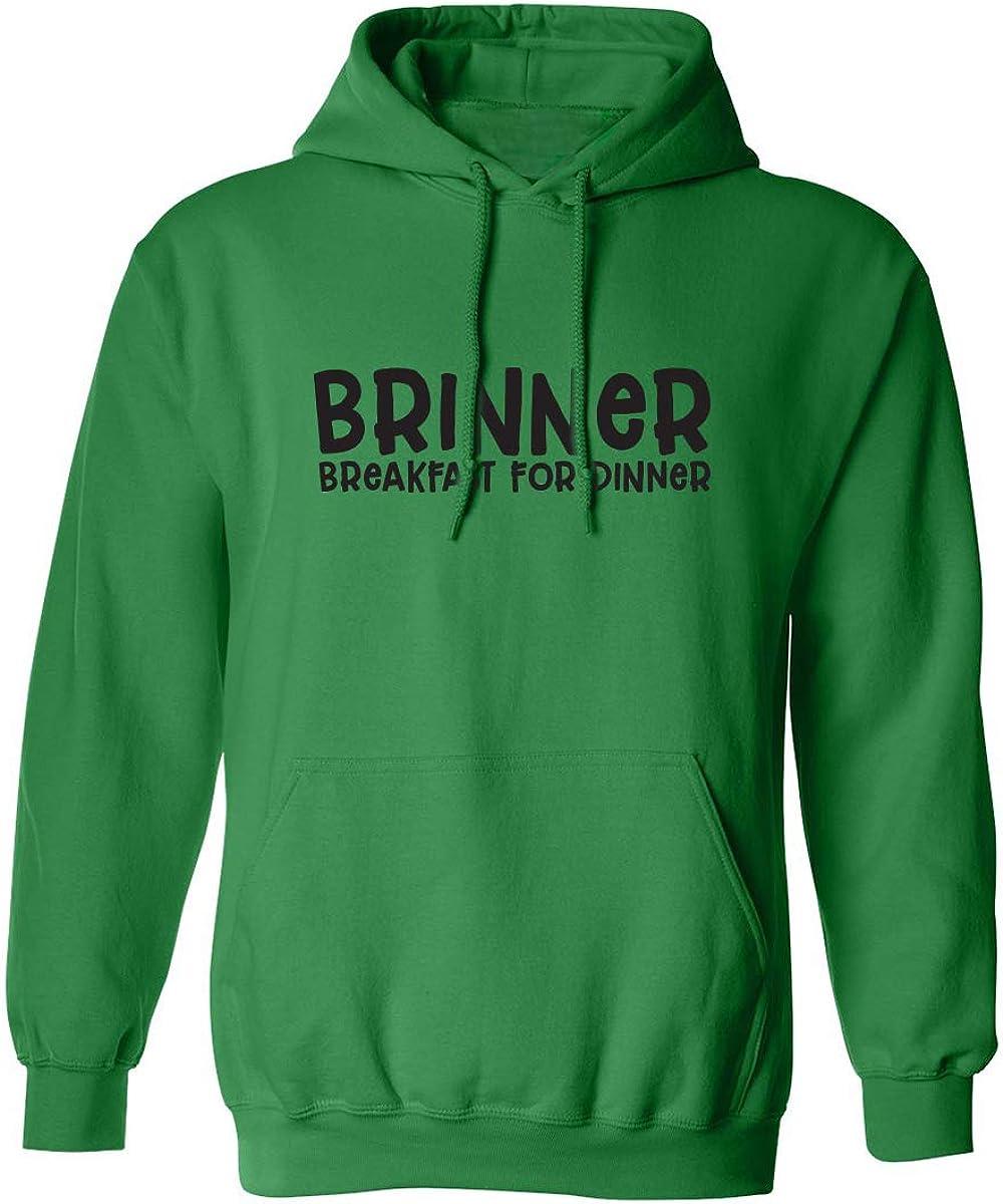 zerogravitee Brinner Breakfast for Dinner Adult Hooded Sweatshirt