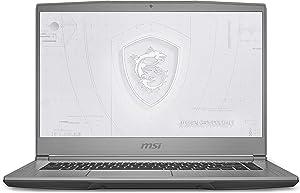 "CUK WF65 by MSI 15 Inch Mobile Workstation Laptop (Intel Core i7, 32GB RAM, 1TB NVMe SSD, NVIDIA Quadro P620 4GB, 15.6"" FHD IPS 60Hz, Windows 10 Pro) Thin Bezel Notebook Computer"