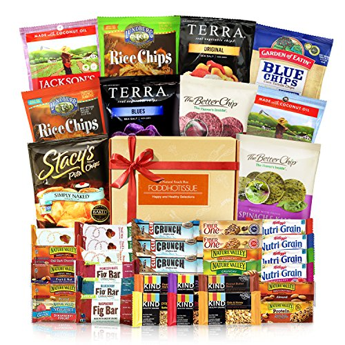 Healthy Bars Variety Pack Care Package 40ct