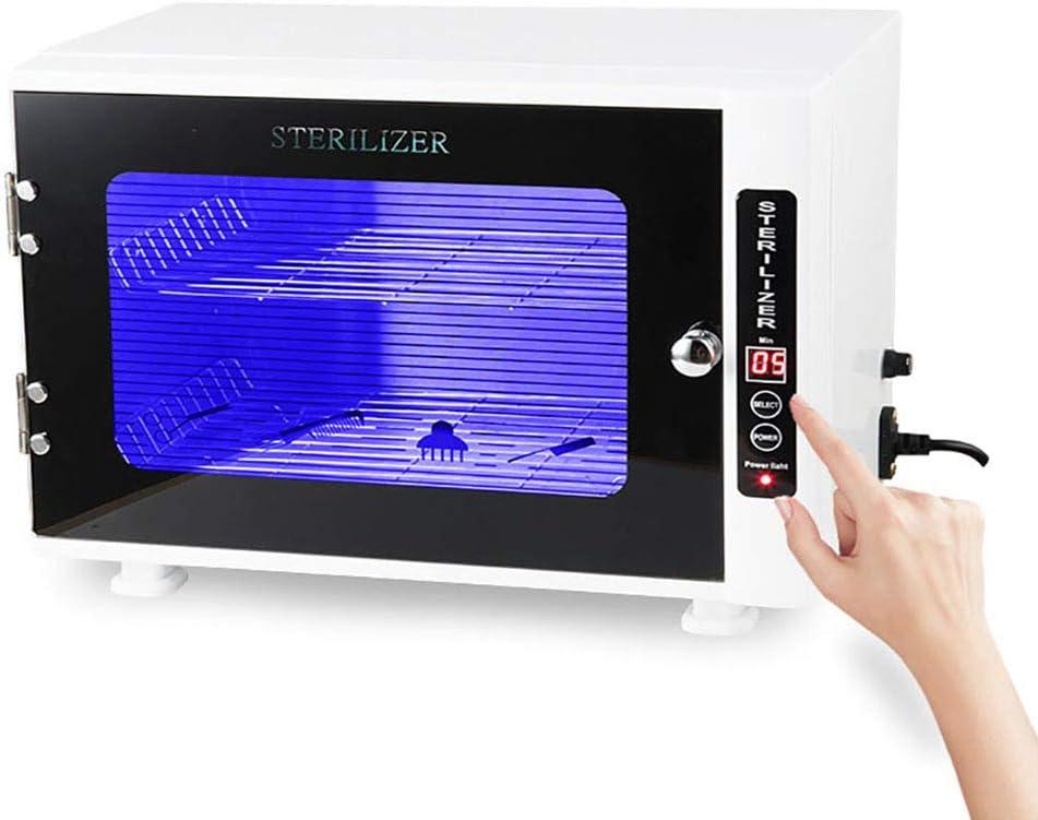 TXqueen Gabinete Profesional para Calentador de Toallas, esterilizador UV de Dos Pisos de Alta Capacidad 2 en 1, Uso para SPA, peluquería, salón y hogar