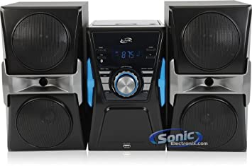 sound system with cd player. ilive - bluetooth home stereo system with cd player and fm radio sound cd n