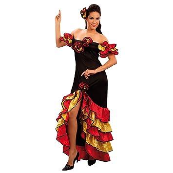 Rumba - Disfraz de sevillana para mujer, talla única (AC595 ...