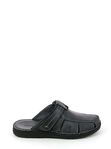 e567081daa5f4 Grunland CI2130 LAPO Ciabatta Uomo P. Nero 40  Amazon.co.uk  Shoes   Bags
