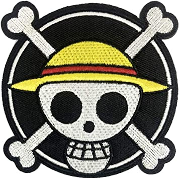 LUFFY TONY CHOPPER STRAW HAT Anime Iron on Patches//Sew On//Applique//Embroidered