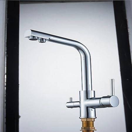 CASA Cucina Lavello Sotto l/'Acqua Potabile Sistema di filtro con Rubinetto e accessori