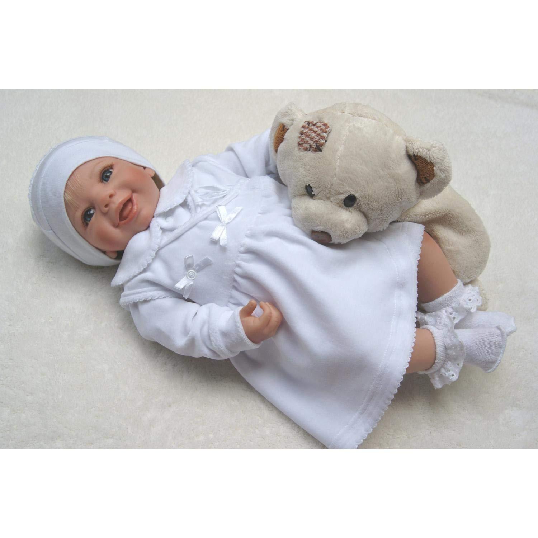 TupTam Baby M/ädchen Taufkleid Langarm Nicki 2-TLG Set