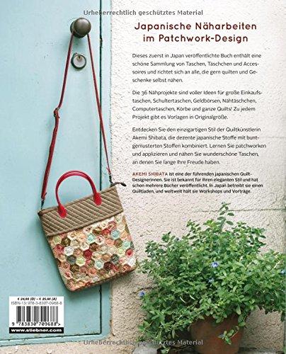 Quilten   Taschen U0026 Geschenke: 36 Nähprojekte Im Japanischen Stil:  Amazon.de: Akemi Shibata: Bücher