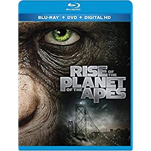 Rise Of The Planet Of The Apes Blu-ray (2014)