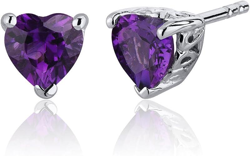Amazing Fancy Shape Natural Raw Amethyst Gemstone 925 Sterling Silver Women Handcrafted Dangle Earrings