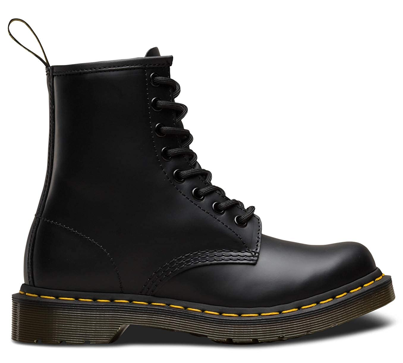 popular design best website dependable performance Dr. Martens - Women's 1460 Original 8-Eye Leather Boot, Black Smooth, 9 US  Women