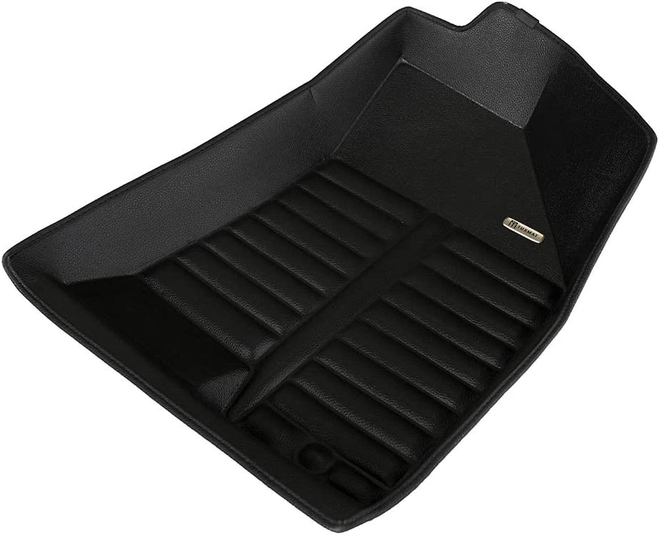All Weather The Ultimate Winter Mats TuxMat Custom Car Floor Mats for Hyundai Tucson 2010-2015 Models/ - Laser Measured Also Look Great in the Summer./ The Best/ Hyundai Tucson Accessory. Largest Coverage Full Set - Black Waterproof