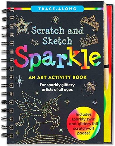 - Scratch & Sketch Sparkle (Trace Along)