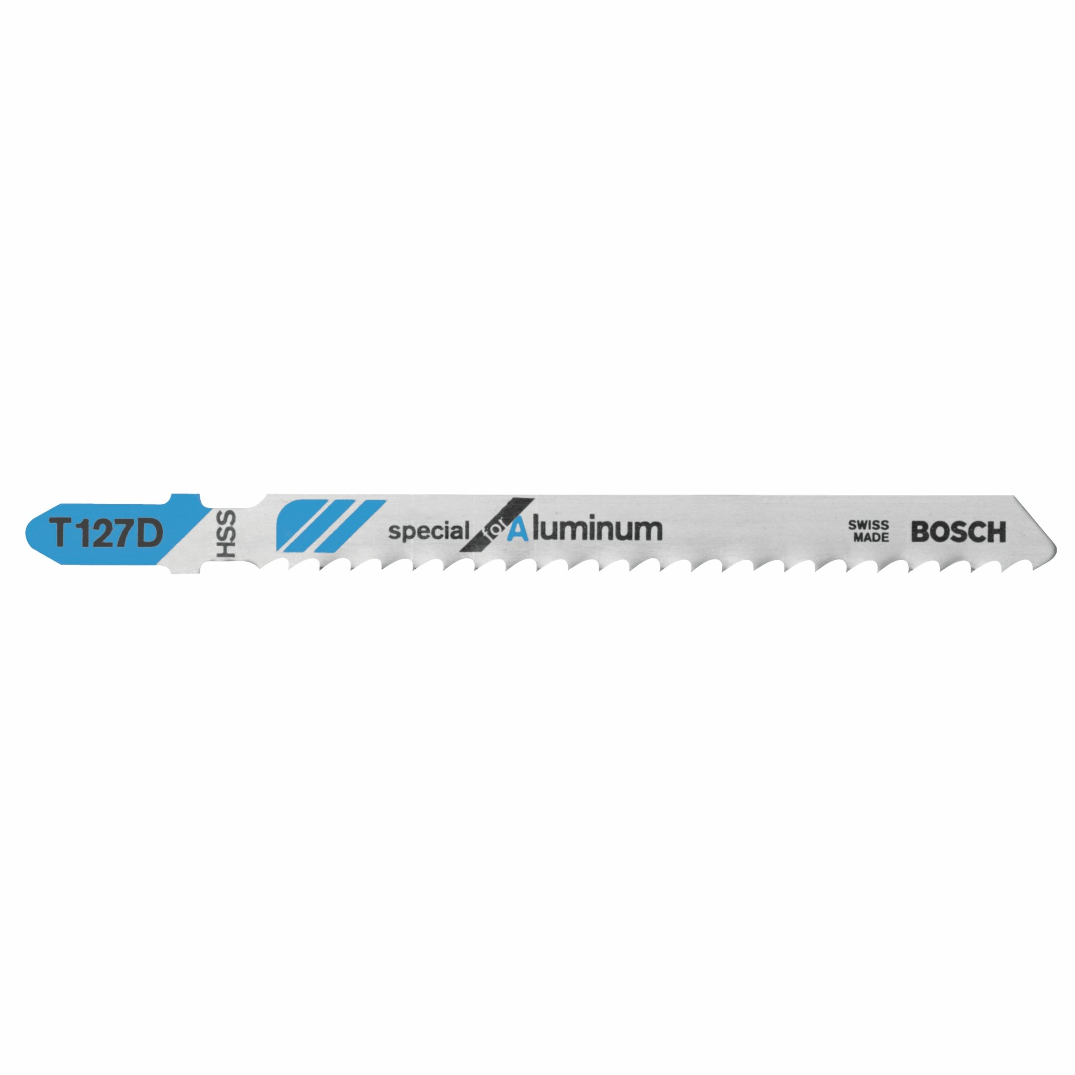 Bosch T127D100 100 pieces 4 In. 8 TPI Special for Aluminum T-Shank Jig Saw Blades by Bosch