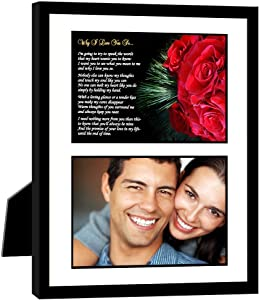 Romantic Gift for Him or Her, Why I Love You So - Add Your Photo
