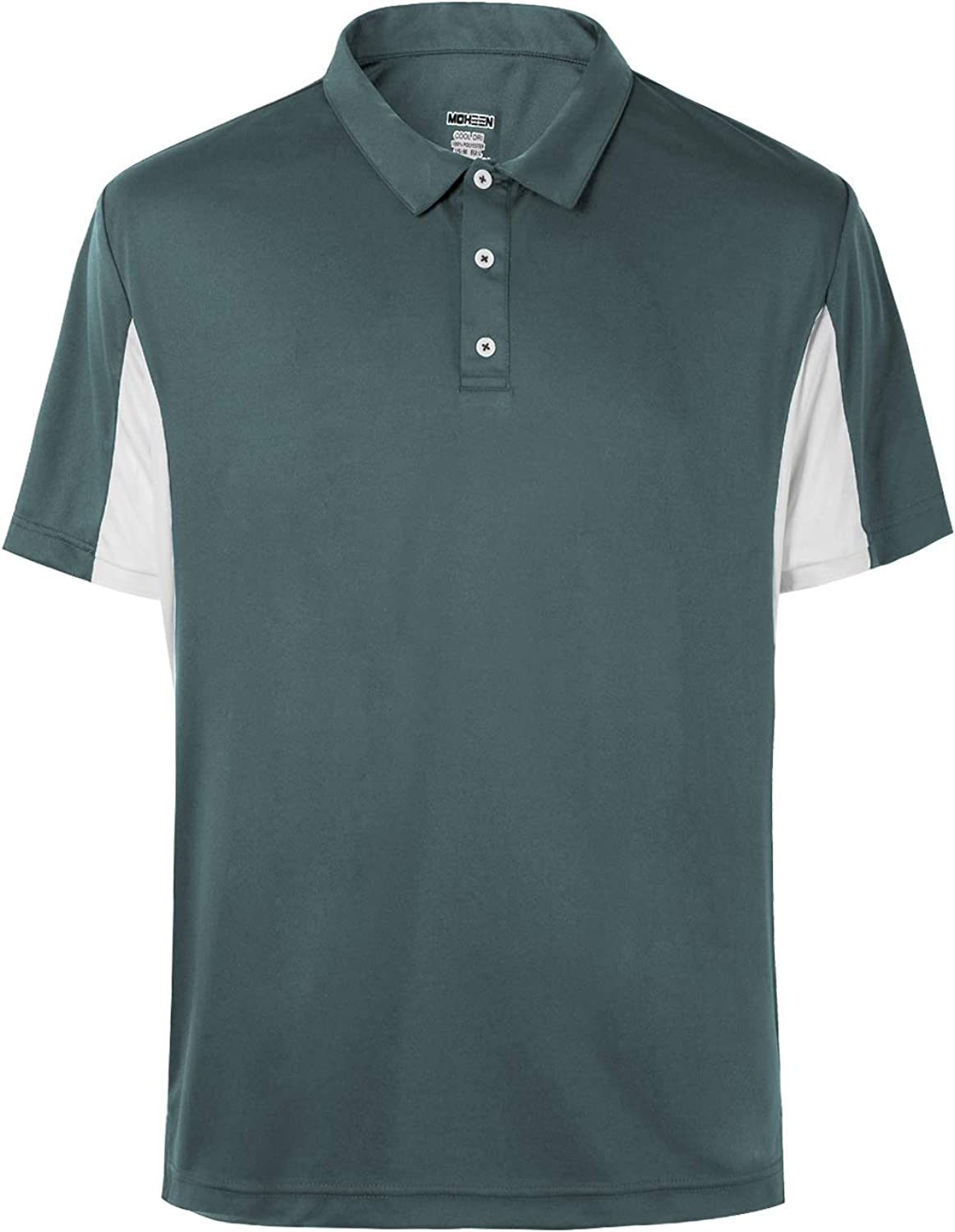 Galls CoolBest II Mens Short Sleeve Wicking Performance Polo Shirt Black Wicks Away Moisture Quickly and Absorbs Heat Slowly