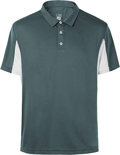 Mens Big and Tall Polo Cool Dri Fit Performance Athletic Golf Shirts for Men  Short Sleeve Side Block Plus Size M-5Xl at Amazon Men's Clothing store