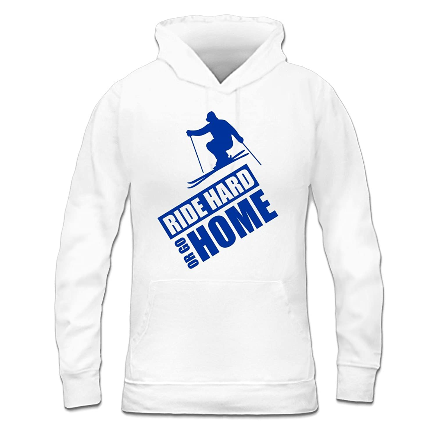 Ride Hard Or Go Home Ski Frauen Kapuzenpullover by Shirtcity