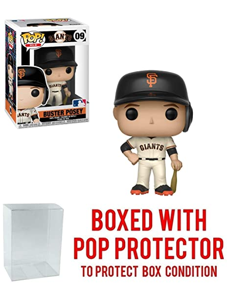 33e9fd5d2a1 Image Unavailable. Image not available for. Color  Funko POP! Sports MLB  San Francisco Giants Buster Posey Action Figure ...